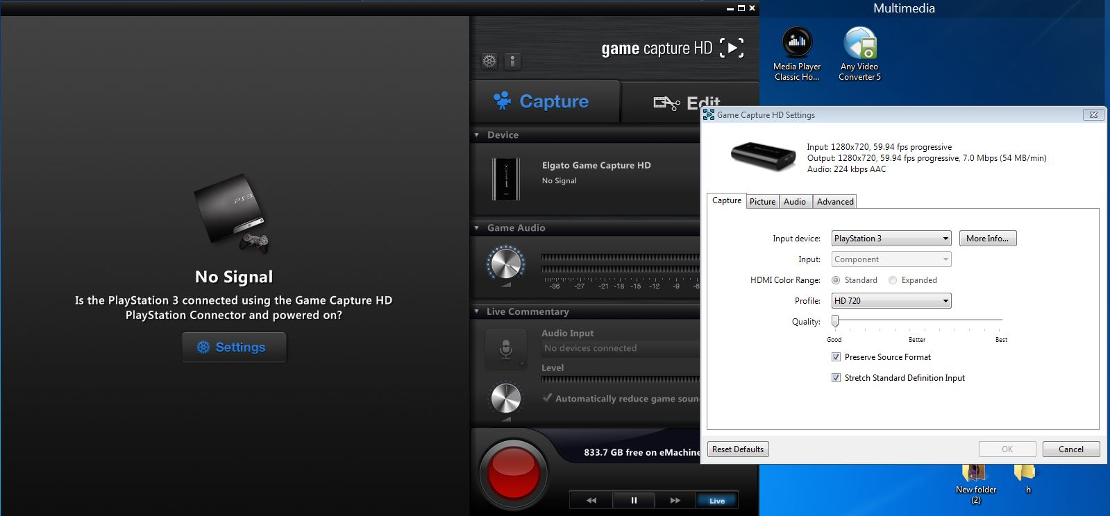 video capture elgato program